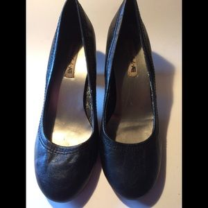 American Eagle Black Heels - 9.5